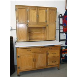 Napanee Dutch Kitchenet- Missing Cutting Board- Metal Work Surface- Average Condition