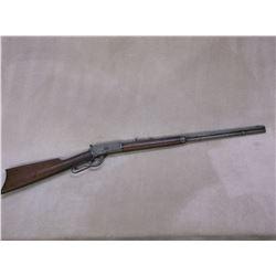 "Winchester Model 1892 Rifle- .25-20 WCF- 24"" Octagon Barrel- Stock Damaged- #768208"