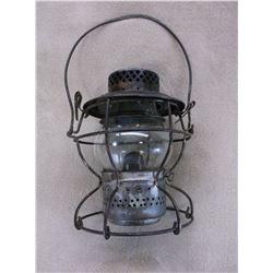 Marked Handlan St. Louis USA Railroad Lantern- Glob Marked LVRR
