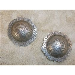 """Marked Sterling Conchos- 2"""""""