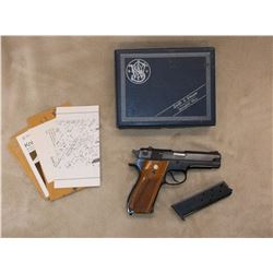 """Smith and Wesson Model 39-2 Automatic Pistol- 9MM- 3"""" Barrel- #A296523- Box- Extra Mag"""