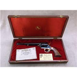 """Colt 125th Anniversary SAA Revolver- .45LC- 7.5"""" Barrel- Unfired In Presentation Box- #3392AM"""