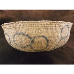 """Tightly Woven Early NW Basket- 13""""W X 5""""H"""
