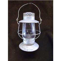 Marked Dietz No 39 Standard New York USA Railroad Lantern- Purple Globe