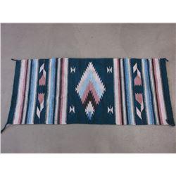 "Navajo Blanket- 63"" X 27""W"