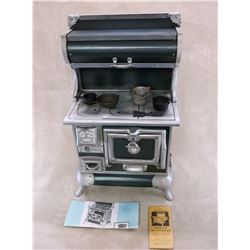 Authentic Reproduction Made From Original Molds Model 420 Mini Cook Stove- Manual