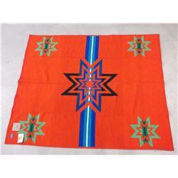 "Pendleton Indian Beaver State Blanket- Sioux Star- Reversible- 80""L X 64""W"