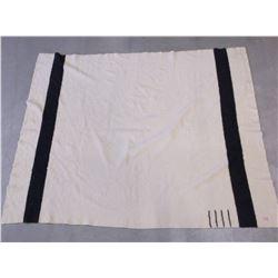 "Marked Hudson Bay Blanket- 4 Point- 86""L X 68""W"