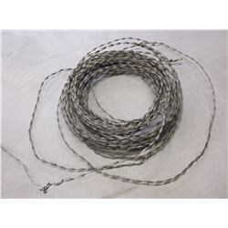 Roll of Old Barbed Wire