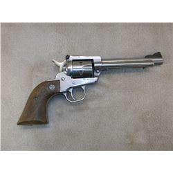 """Ruger New Model Single Six Revolver- .22- Stainless- 5.5"""" Barrel- #65-40660"""