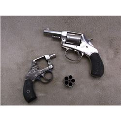 2 Old Wall Hanging Revolvers- Non Shooters
