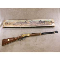 """Winchester Model 94 Golden Spike Commemorative Saddle Ring Carbine- .30-30- 20"""" Barrel- Unfired"""