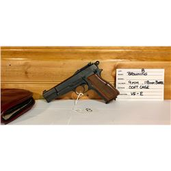 BROWNING, NO MODEL, 9MM