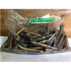 AMMO: 95 X MIXED RIFLE