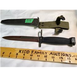 US M7 BAYONET-KNIFE FOR M16 RIFLE