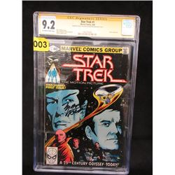 Autographed Star Trek 1980 Comic #1
