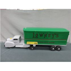 "1950s Lincoln 24"" Lowney's Chocolate Bar Truck"
