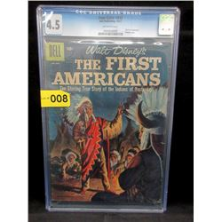 "1957 Walt Disney ""The First Americans"" #843 Comic"