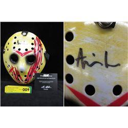 Autographed Ari Lehman (Jason Voorhees) Mask