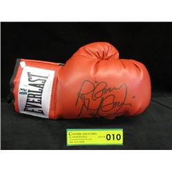 Signed Boom Boom Mancini Everlast Boxing Glove