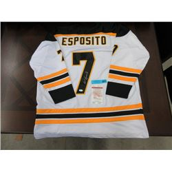 Phil Esposito Hand Signed Jersey