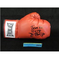 Autographed Buster Douglas Everlast Boxing Glove