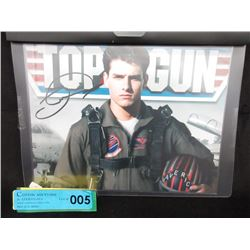 "Signed & Certified Tom Cruise ""Top Gun"" Photo"
