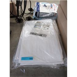 New 12 x 16 Foot Heavy Duty White Tarp