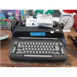 Ball Type Electric Typewriter - Working