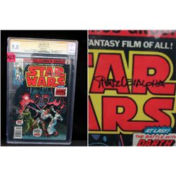 CGC Graded Autographed 1977 Star Wars #4 Comic