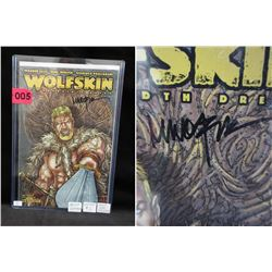 Wolf Skin #1 Artist Signed Comic Book