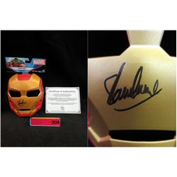 Stan Lee Autographed & Certified Iron Man Mask
