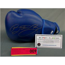 Autographed & Certified Butter Bean Boxing Glove