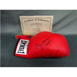 Everlast Boxing Glove Autographed by Ray Mercer