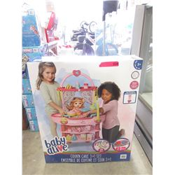 New Baby Alive Cook'n Care 3 in 1 Set