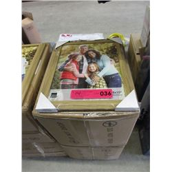 "2 Case of New 8"" x 10"" Oak Picture Frames"