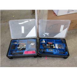 2 Mastercraft Rotary Tool Kits
