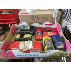 8 Diecast Collector Cars