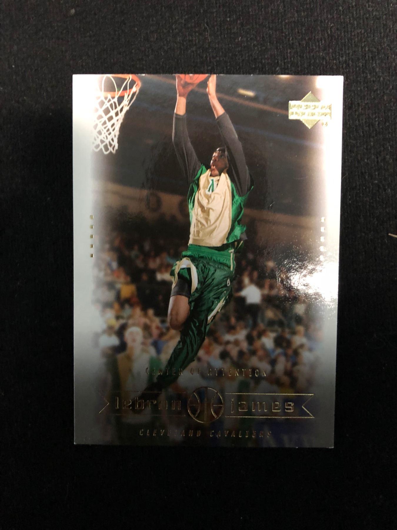 Upper Deck Lebron James Rookie Card