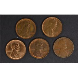 NICE LINCOLN CENT LOT: