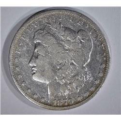 1879-CC MORGAN DOLLAR, FINE+