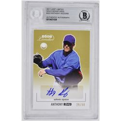 2011 ANTHONY RIZZO SIGNED CARD