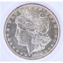 1902 MORGAN DOLLAR CH BU PL