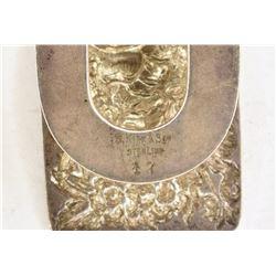 Antique S KIRK & SON Sterling Silver Money Clip