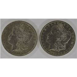 1883-O & 1886 CH BU MORGAN DOLLARS