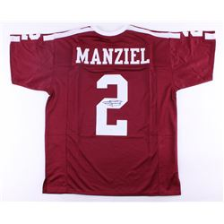 00d031526 Johnny Manziel Signed AM Aggies Jersey (JSA COA)