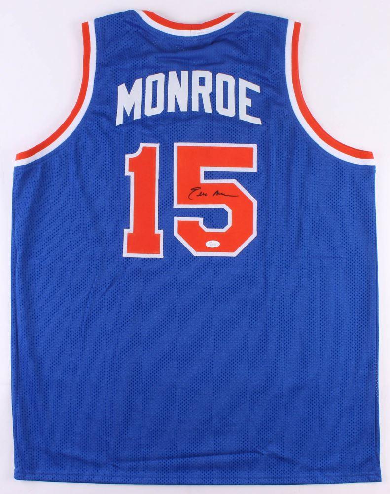 wholesale dealer 76389 5e2cb Earl Monroe Signed Knicks Jersey (JSA COA)