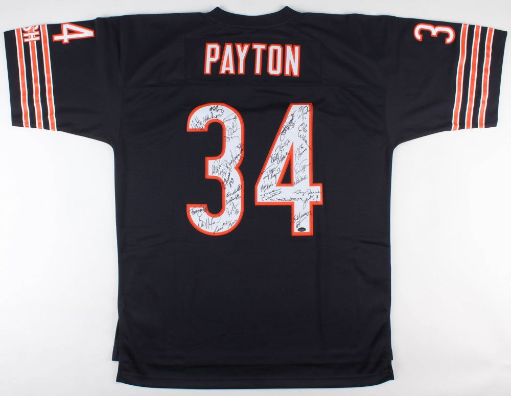 1c77b0a7e81 Image 1 : 1985 Walter Payton Bears Jersey Signed by (31) with Mike Ditka