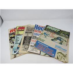 5 ASSORTED HOCKEY MAGAZINES