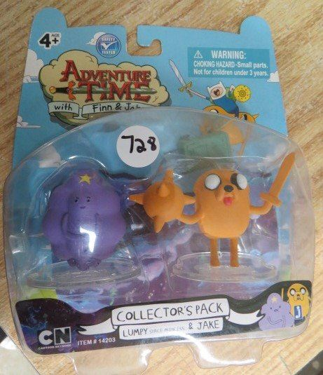 NEW Adventure Time LUMPY /& JAKE Figure Collectors pack